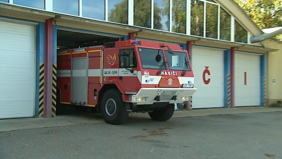 Výjezd hasičů