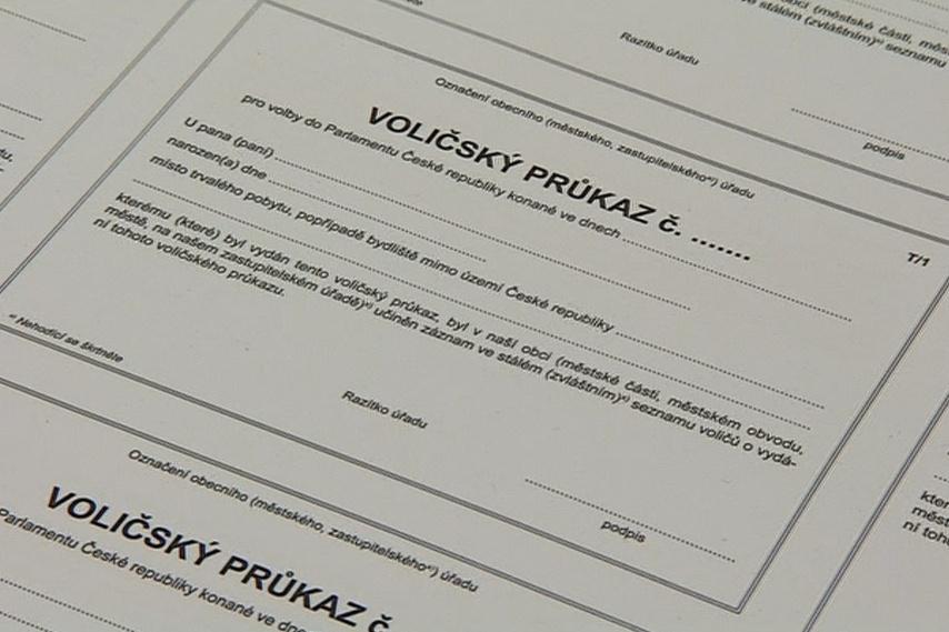 V břeclavské tiskárně tisknou i voličské průkazy