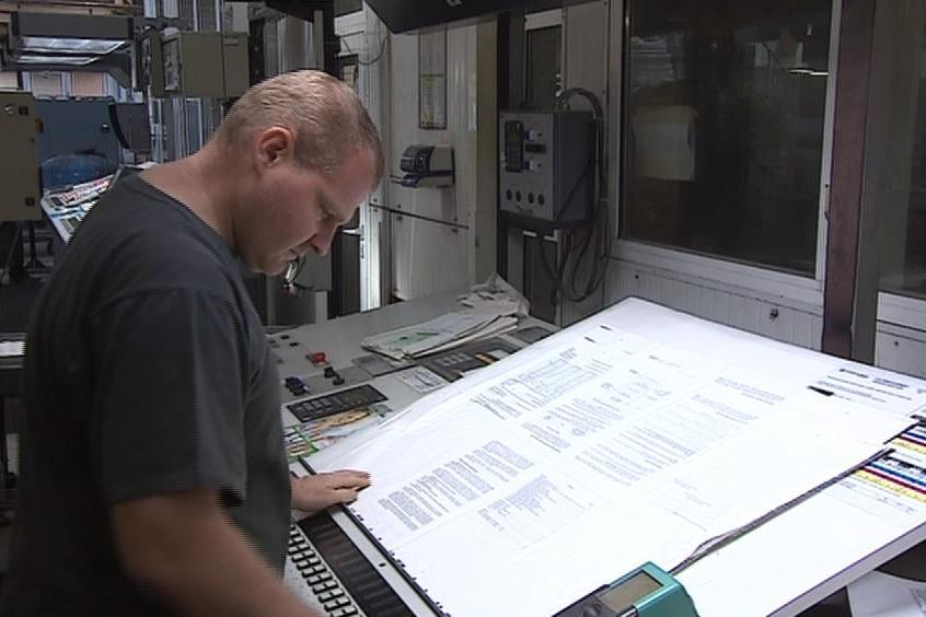 Tiskaři výtisky pravidelně kontrolují
