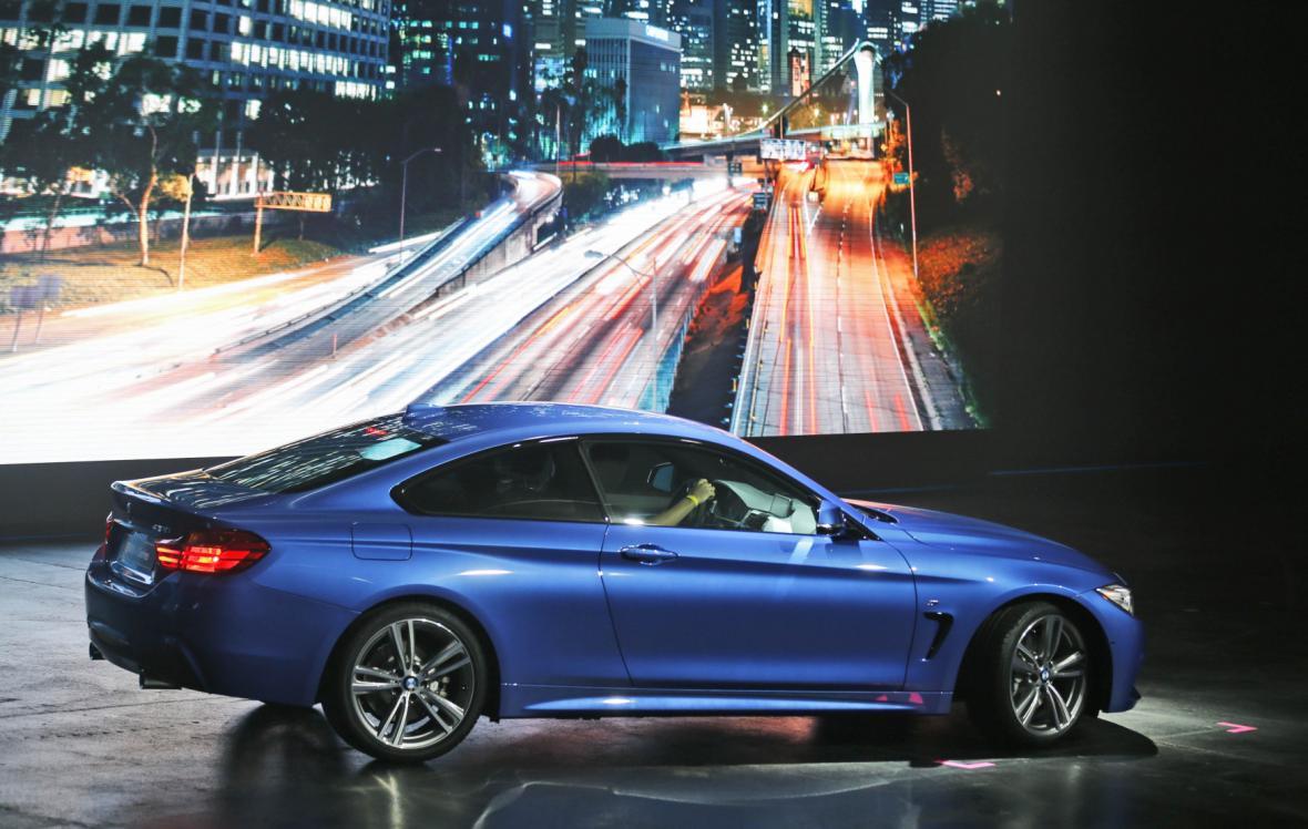 Nové BMW 4 Series na autosalonu ve Frankfurtu (2013)