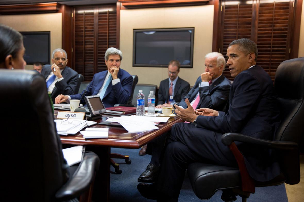 Kancelář amerického prezidenta Baracka Obamy