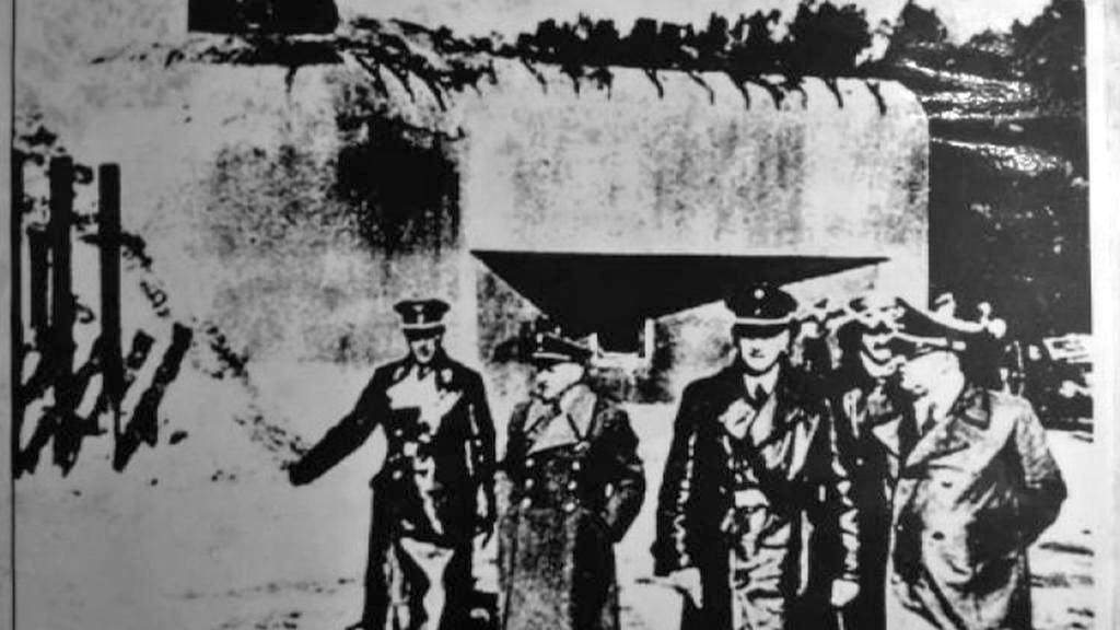 Bunkr B-S 8 navštívil i Adolf Hitler