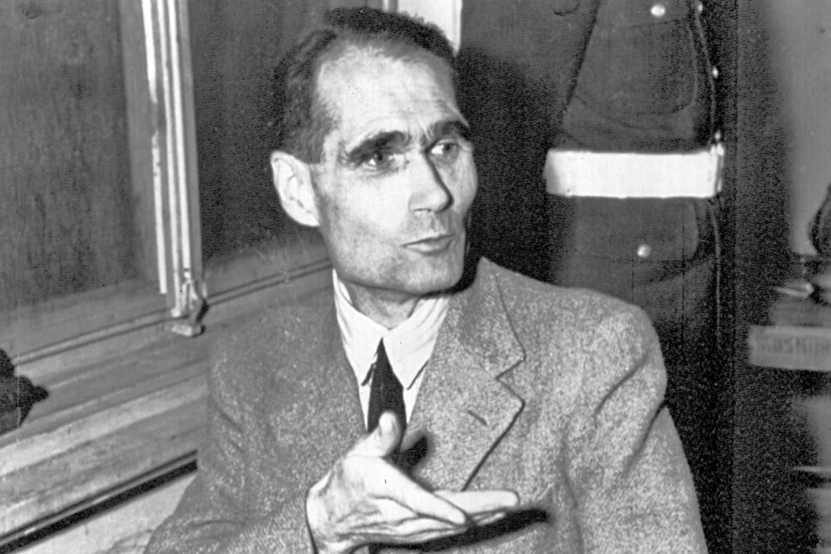 Rudolf Hess před norimberským tribunálem