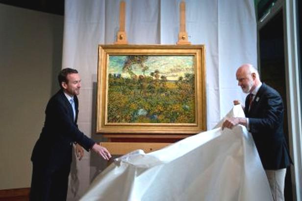 Vincent van Gogh / Západ slunce v Montmajour