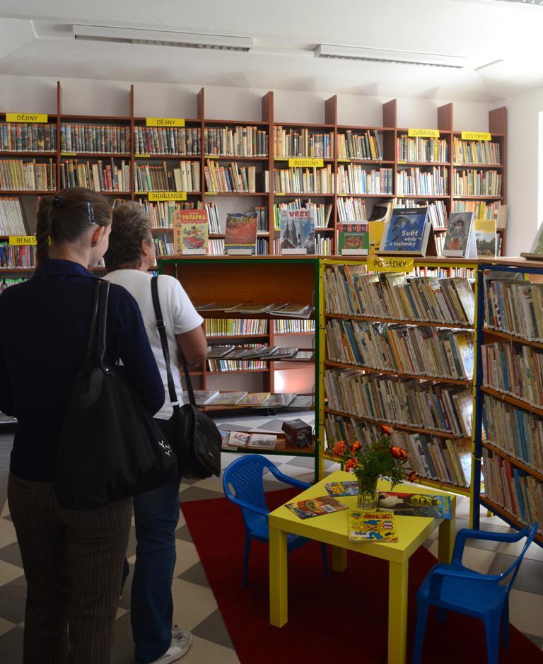 Knihovna ve Stříbrné Skalici