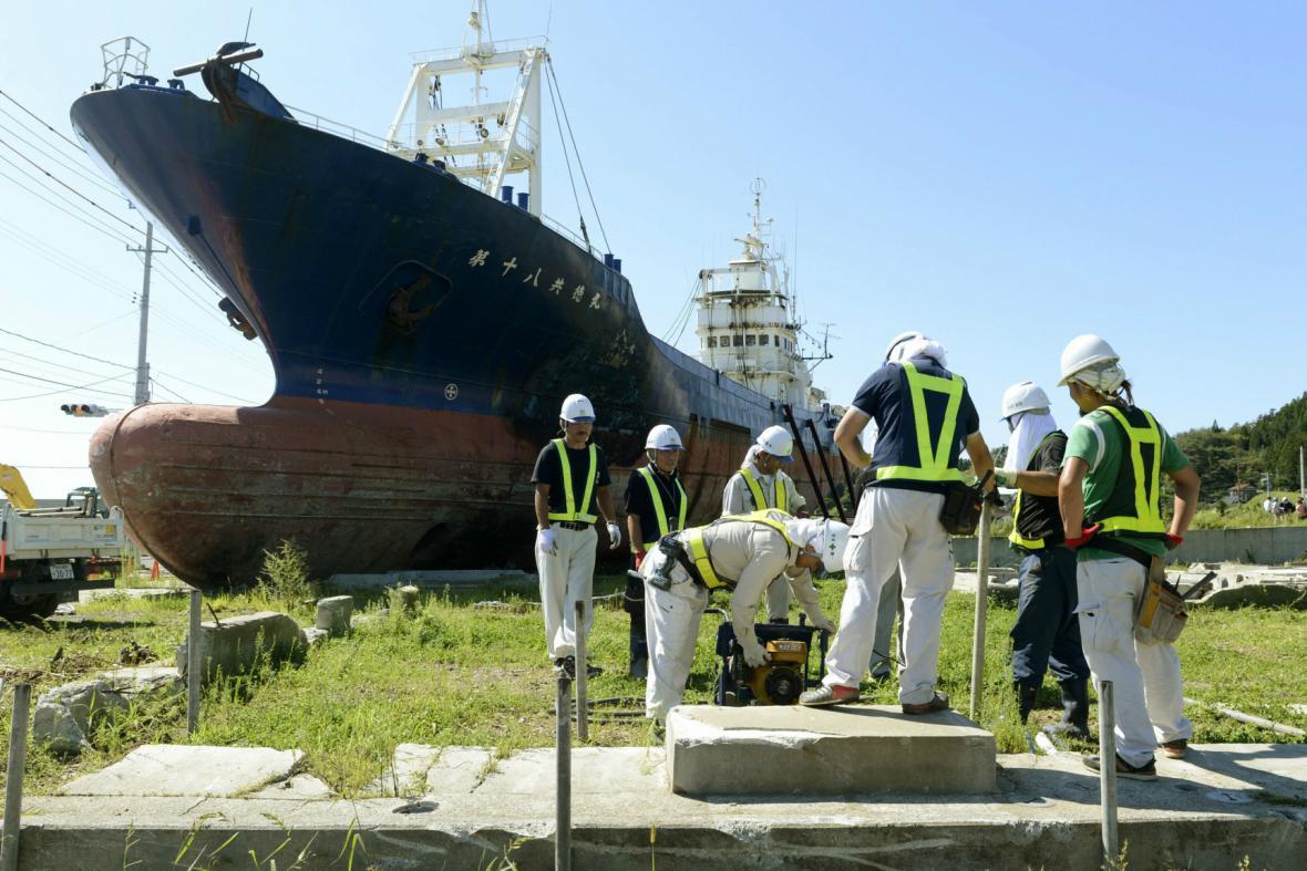 Japonci začali demontovat loď Kjótokumaru