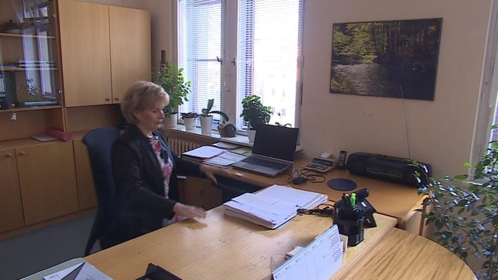Její práce je především administrativa
