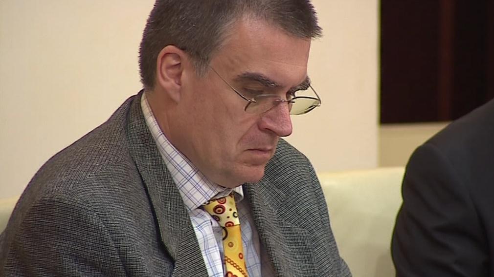 Ministr dopravy v demisi Zdeněk Žák