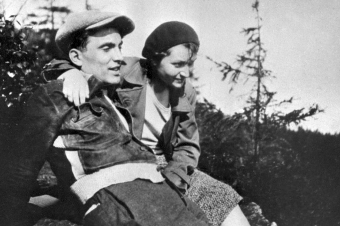 Julius Fučík a jeho žena Gusta