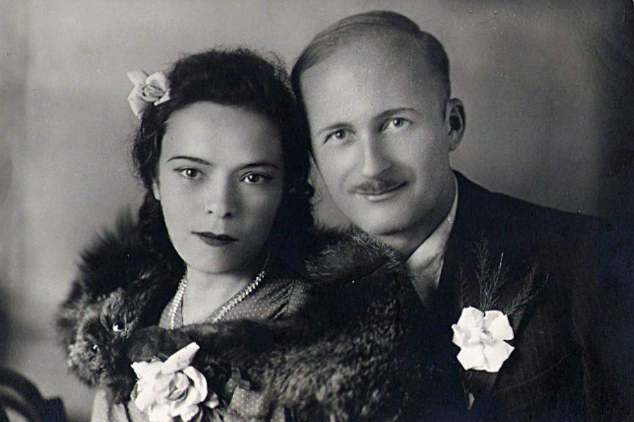 Svatební fotografie Marie a Ryszarda Siwcových