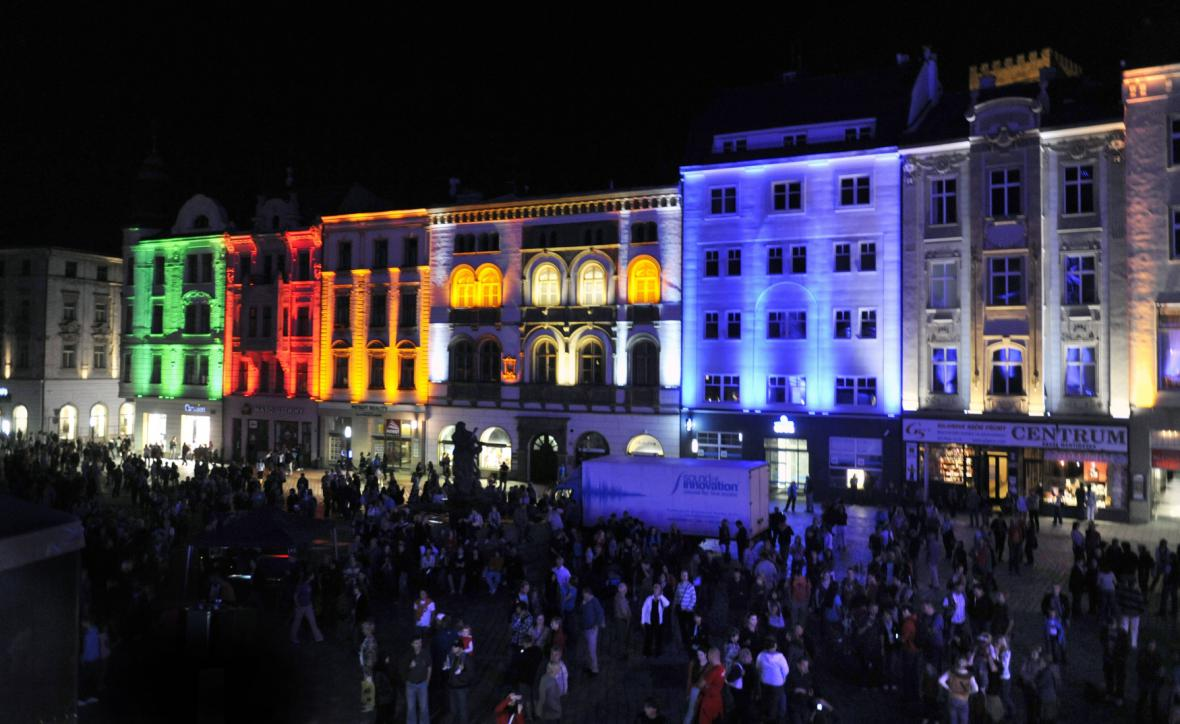 Festival světla a videomappingu
