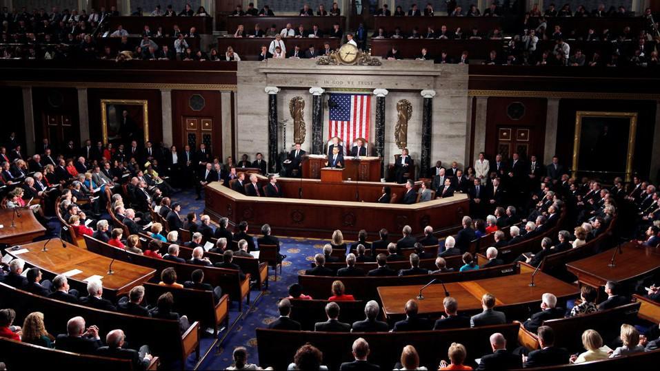 Zasednání amerického Kongresu