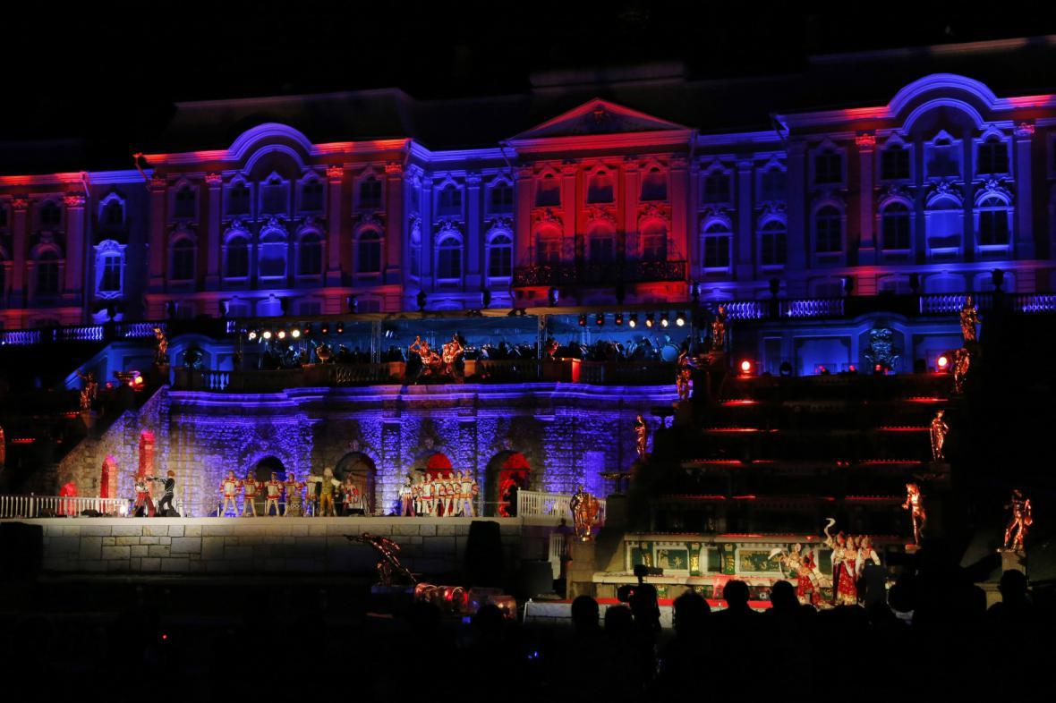 Noční představení pro účastníky summitu G20