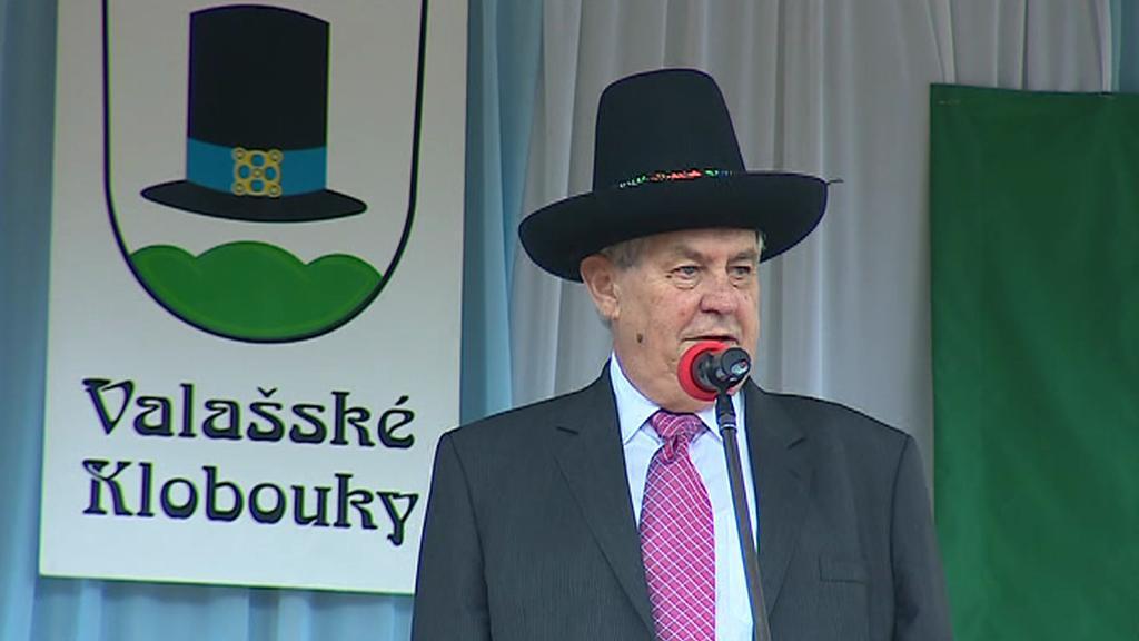 Miloš Zeman na Valašsku