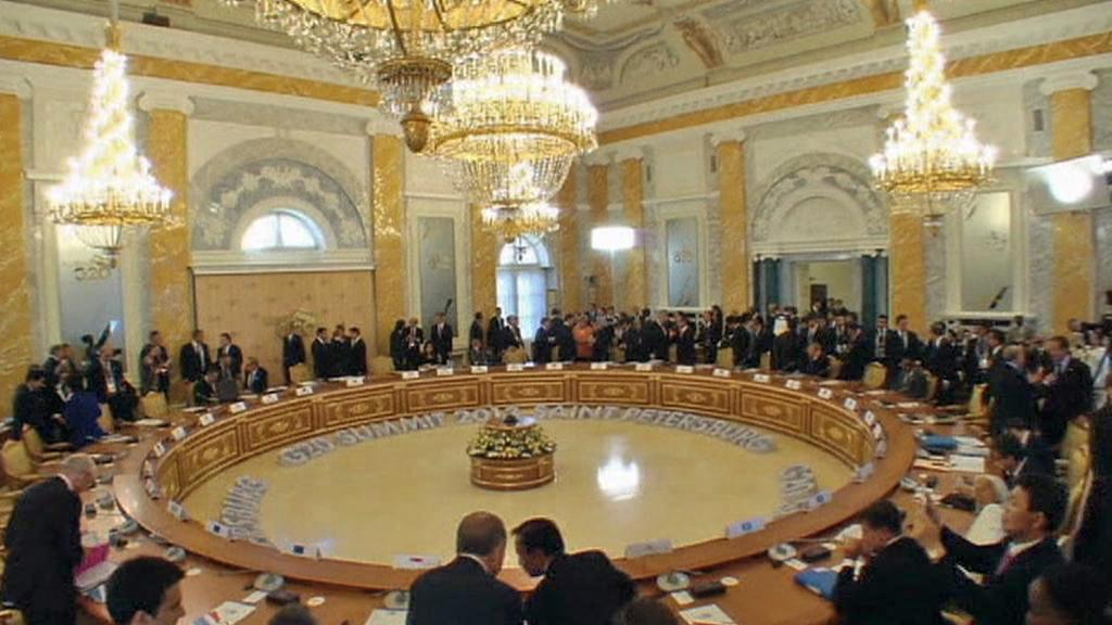 Petrohradský summit G20