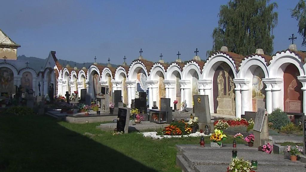Hřbitov v Albrechticích nad Vltavou