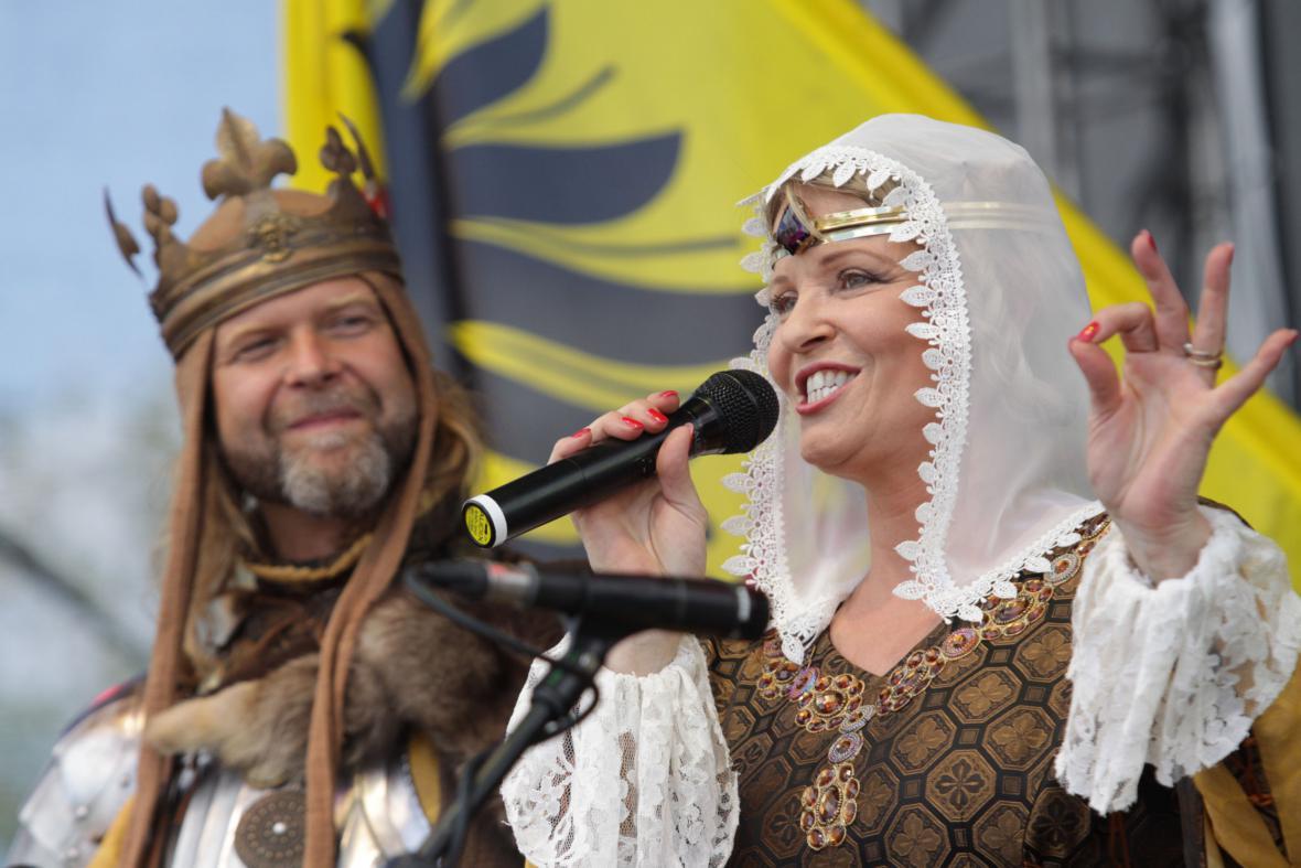 Král a královna Pálavského vinobraní