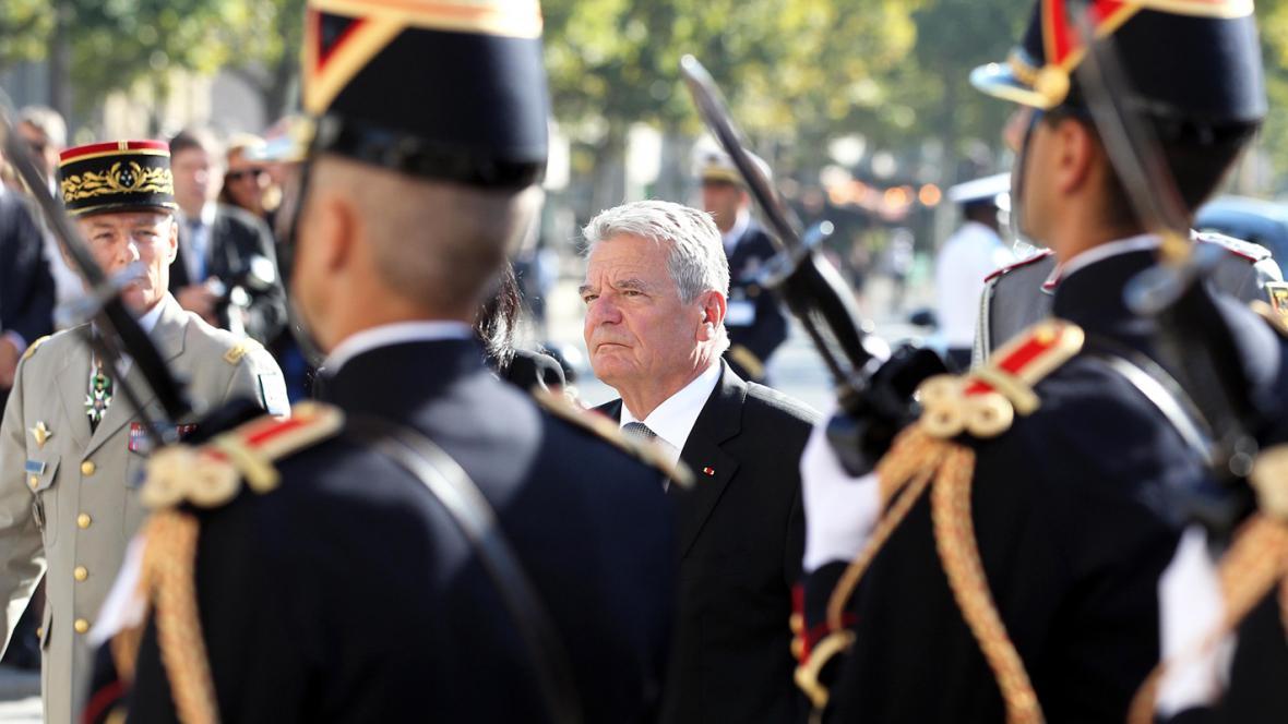 Prezident Gauck na návštěvě Francie
