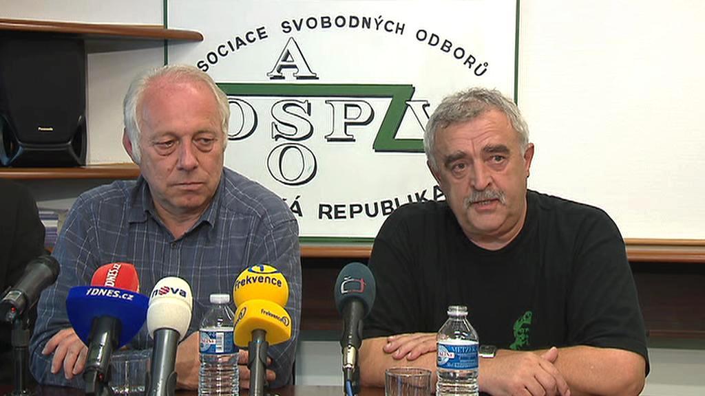 Bohumír Dufek a Jan Sábel
