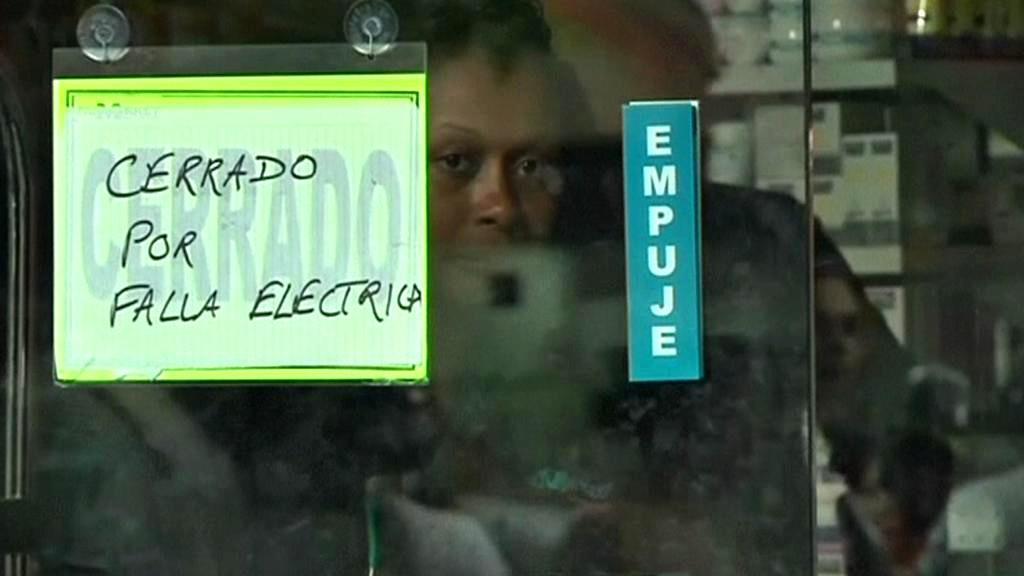 Venezuela bez elektřiny