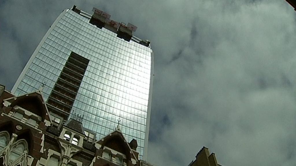 Londýnský mrakodrap Walkie Talkie