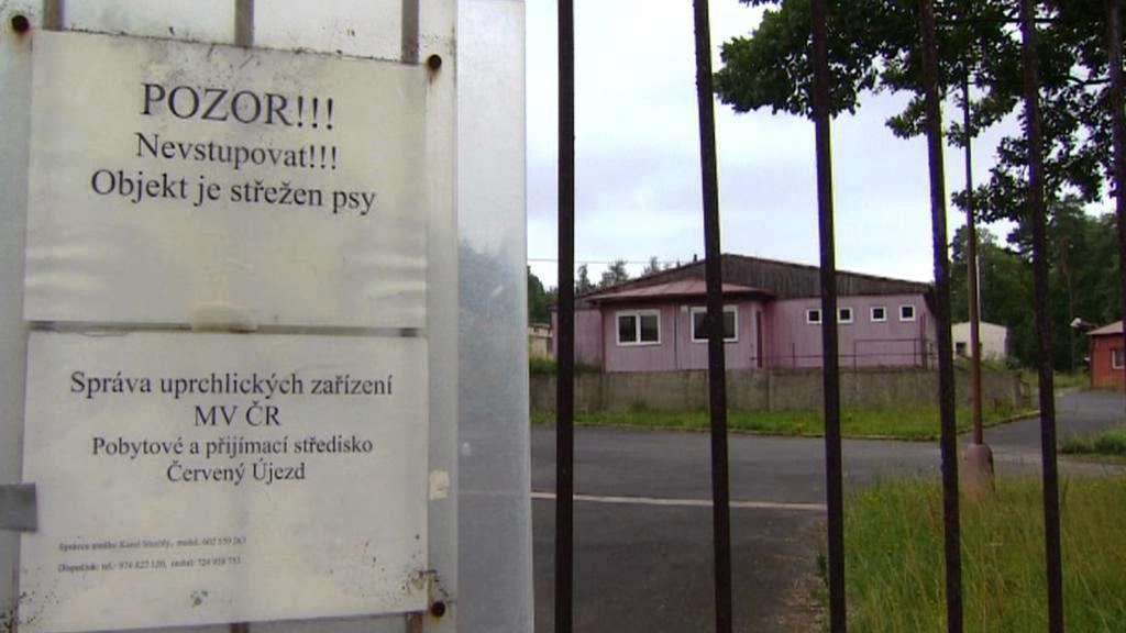 Bývalý uprchlický tábor v Červeném Újezdě