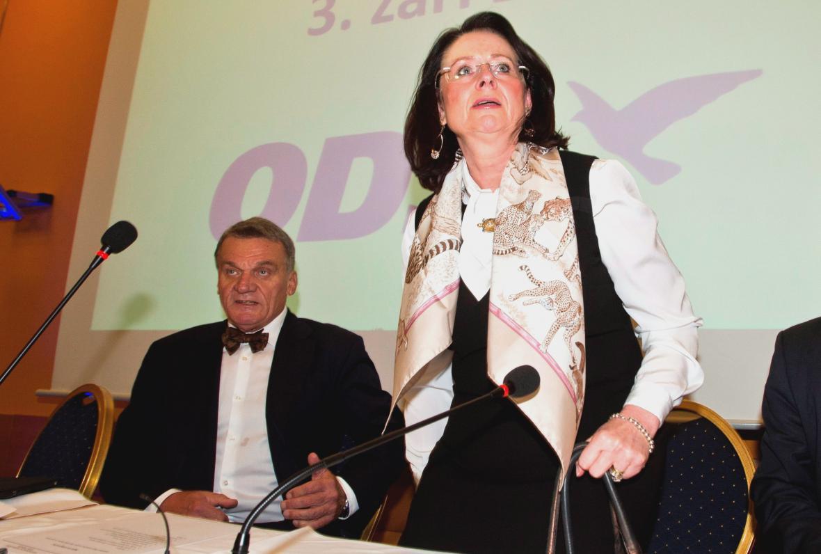 Bohuslav Svoboda a Miroslava Němcová