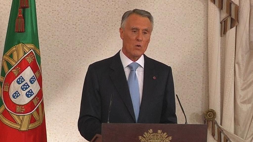 Portugalský prezident Aníbal Cavaco Silva