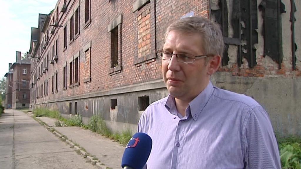Oldřich Roztočil, majitel domů ghetta v ulici Přednádraží