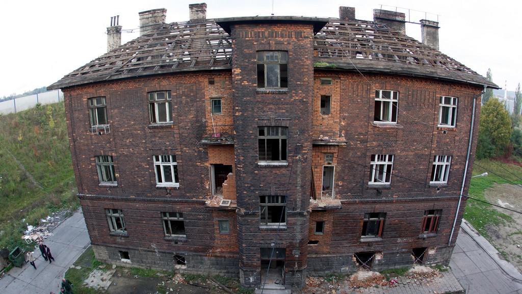 Dům čp. 10 v ostravském ghettu Přednádraží