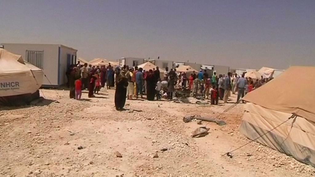 Uprchlický tábor Zátarí