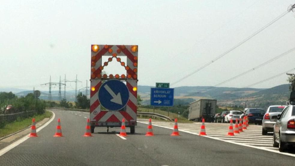Nehoda uzavřela dálnici