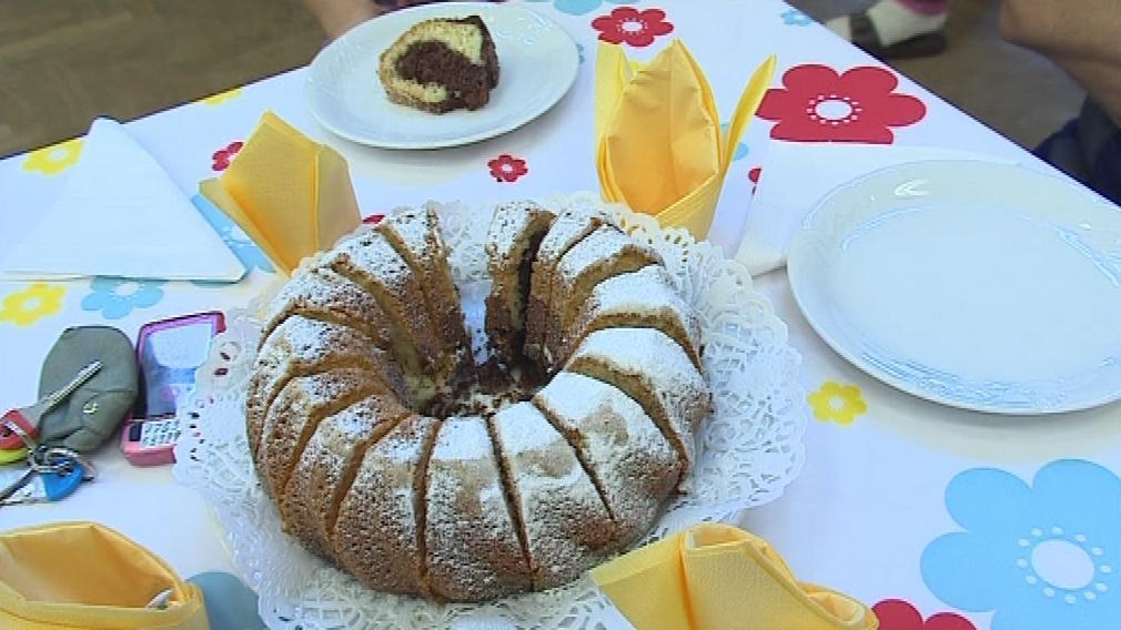 Svátek začal společnou snídaní v kulturním domě