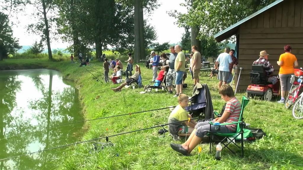 Soutěž malých rybářů