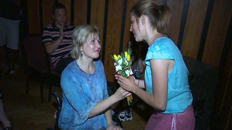 Setkání Markéty Irglové s Hanou Volfovou
