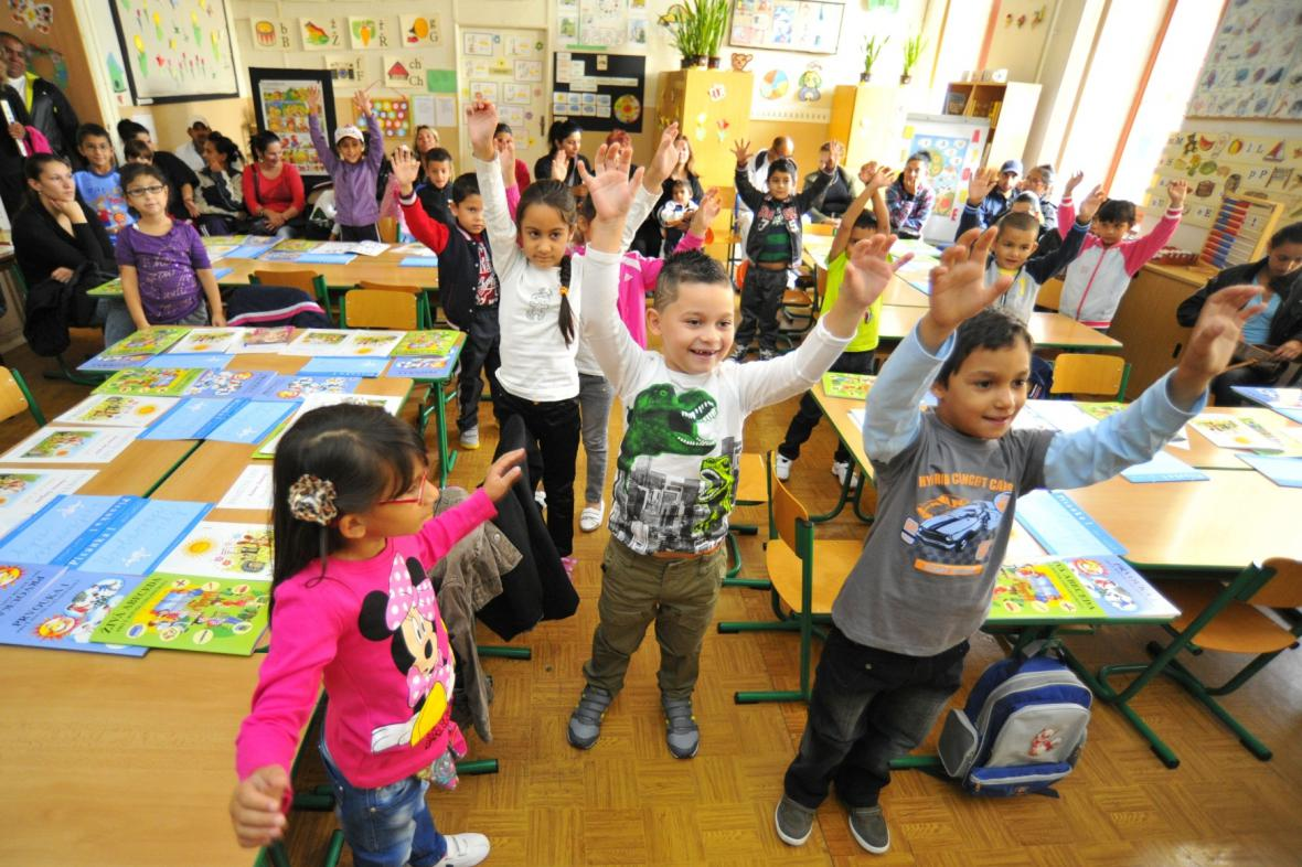První školní den na Základní škole 28. října v Brně-Zábrdovicích