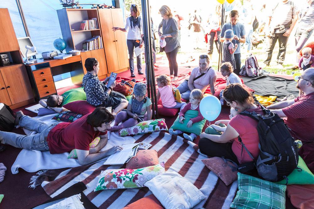 Zahájení Déčka na Pankrácké pláni