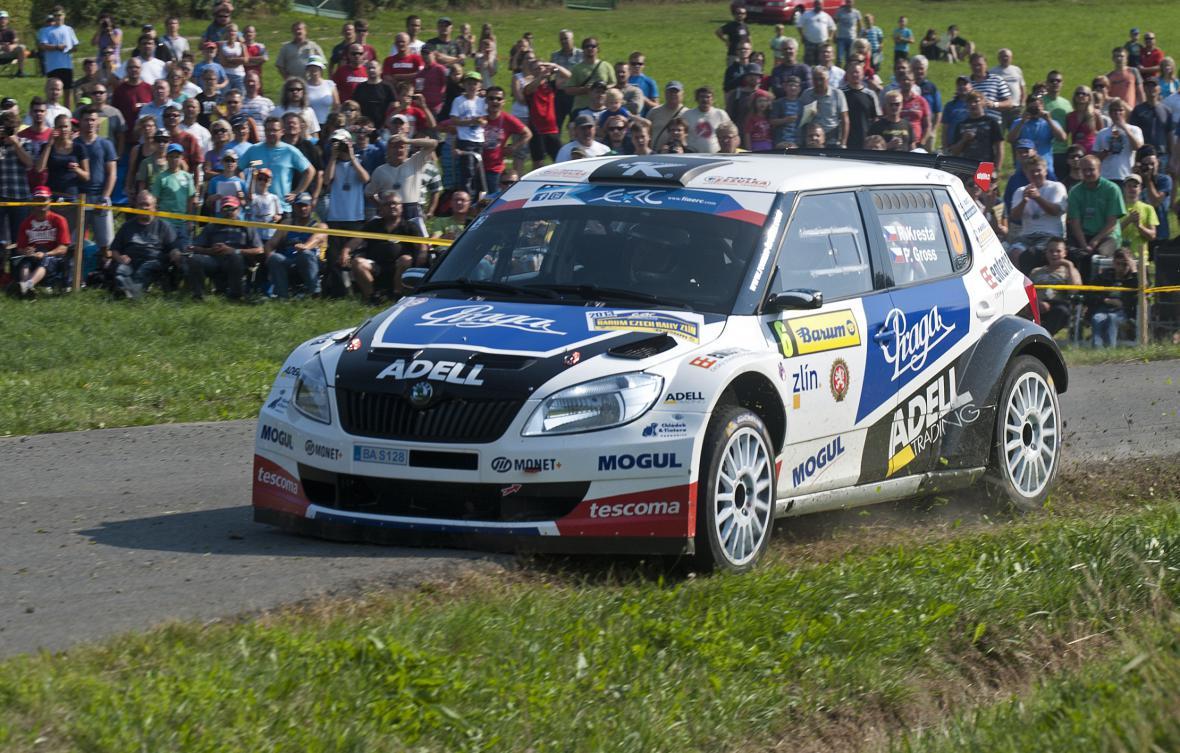 Barum Czech Rally v Lukově na Zlínsku