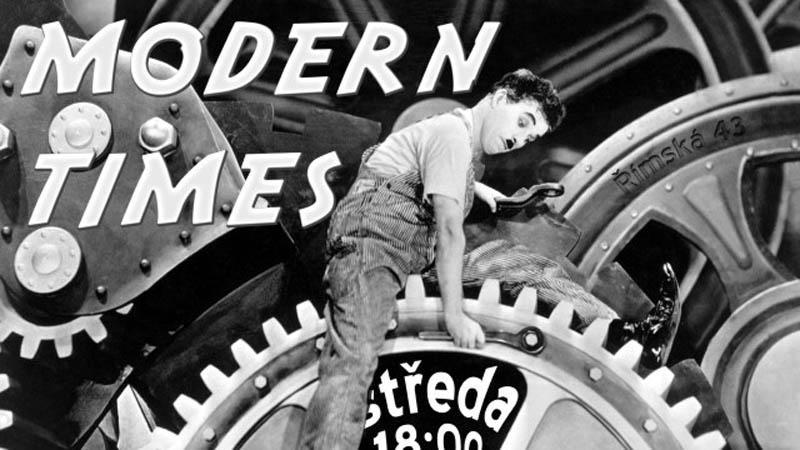 Charlie Chaplin / Moderní doba
