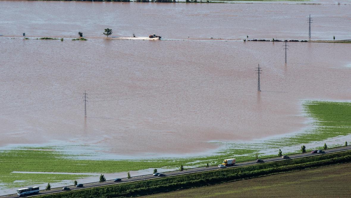Záplava na Litoměřicku