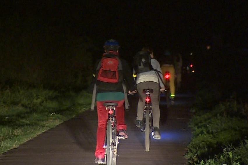 Noční cyklojízda z Brna do Pohořelic