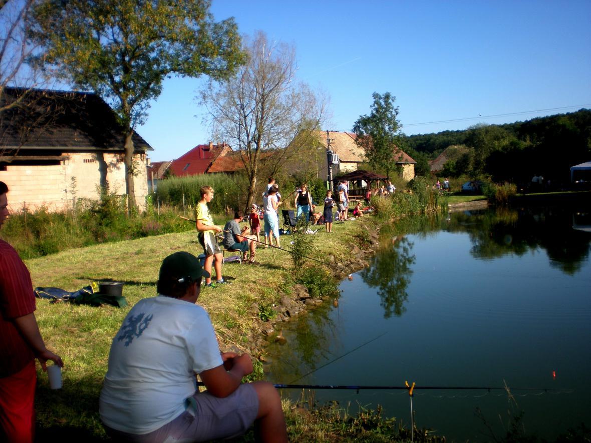 Rybářské závody - Vojnice