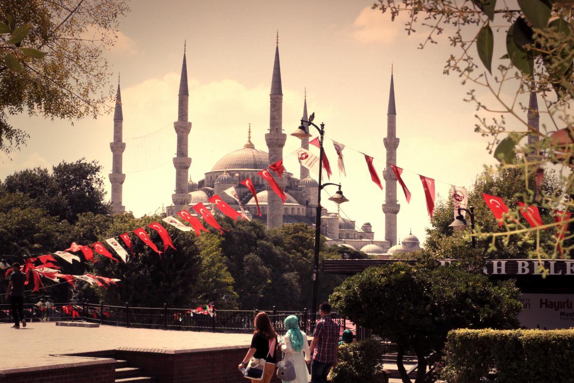 Jednou ze zastávek cesty byl Istanbul
