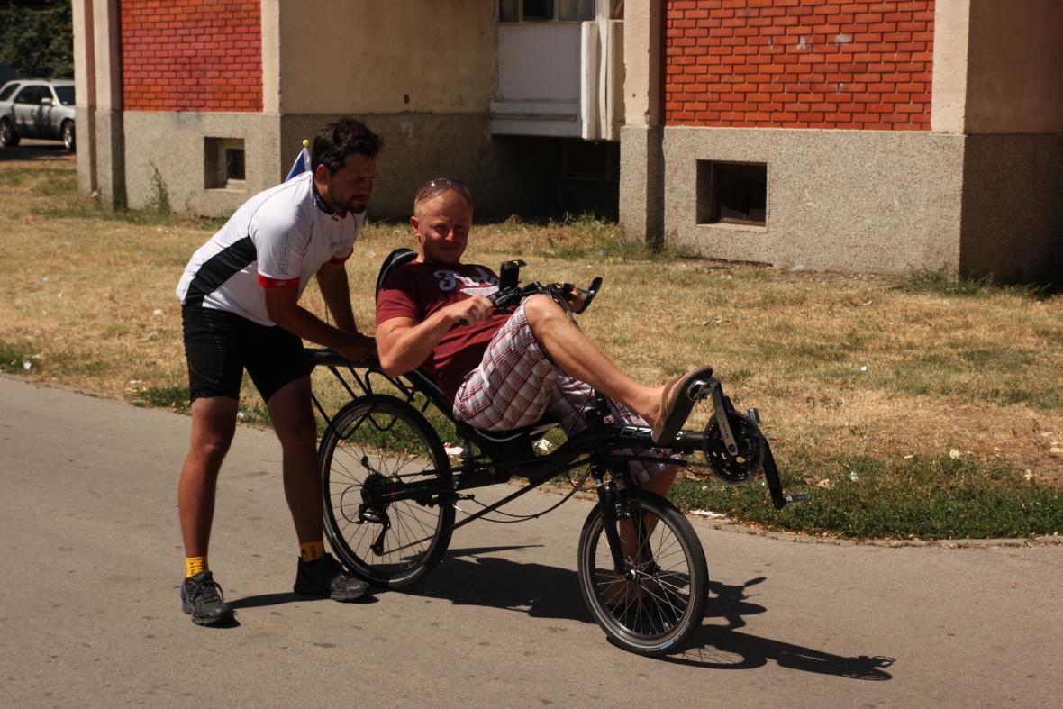 Každý si chtěl zvláštní kolo vyzkoušet