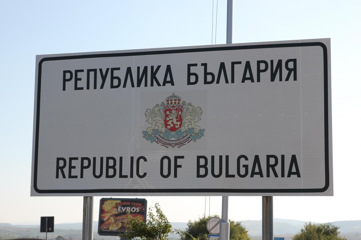 Cesta vedla mimo jiné přes Bulharsko
