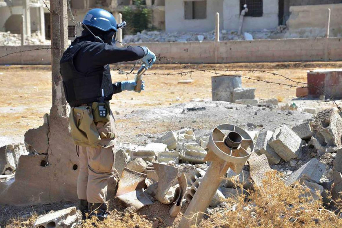 Inspektor OSN v Sýrii