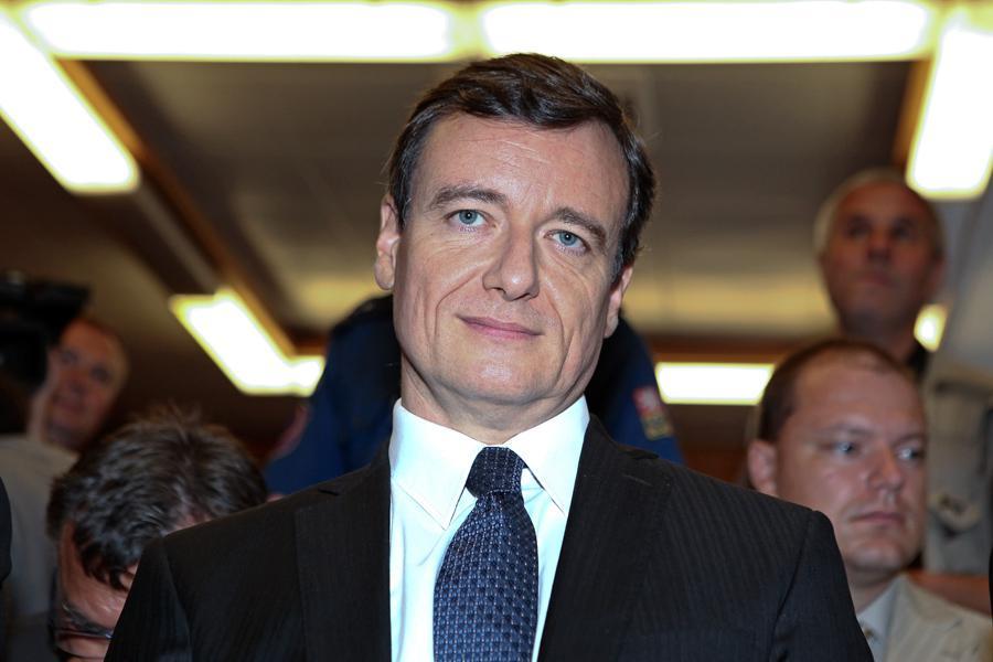 David Rath před Krajským soudem v Praze