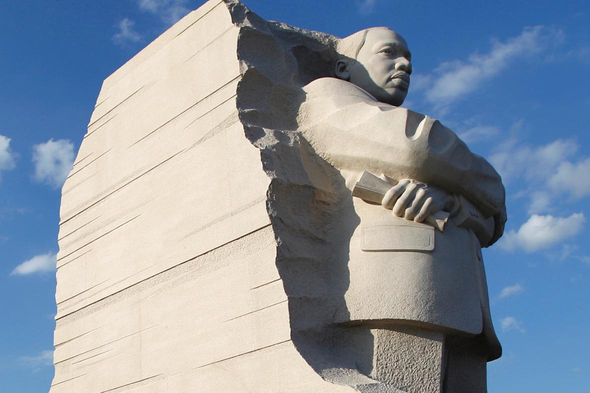 Pomník Martina Luthera Kinga ve Washingtonu