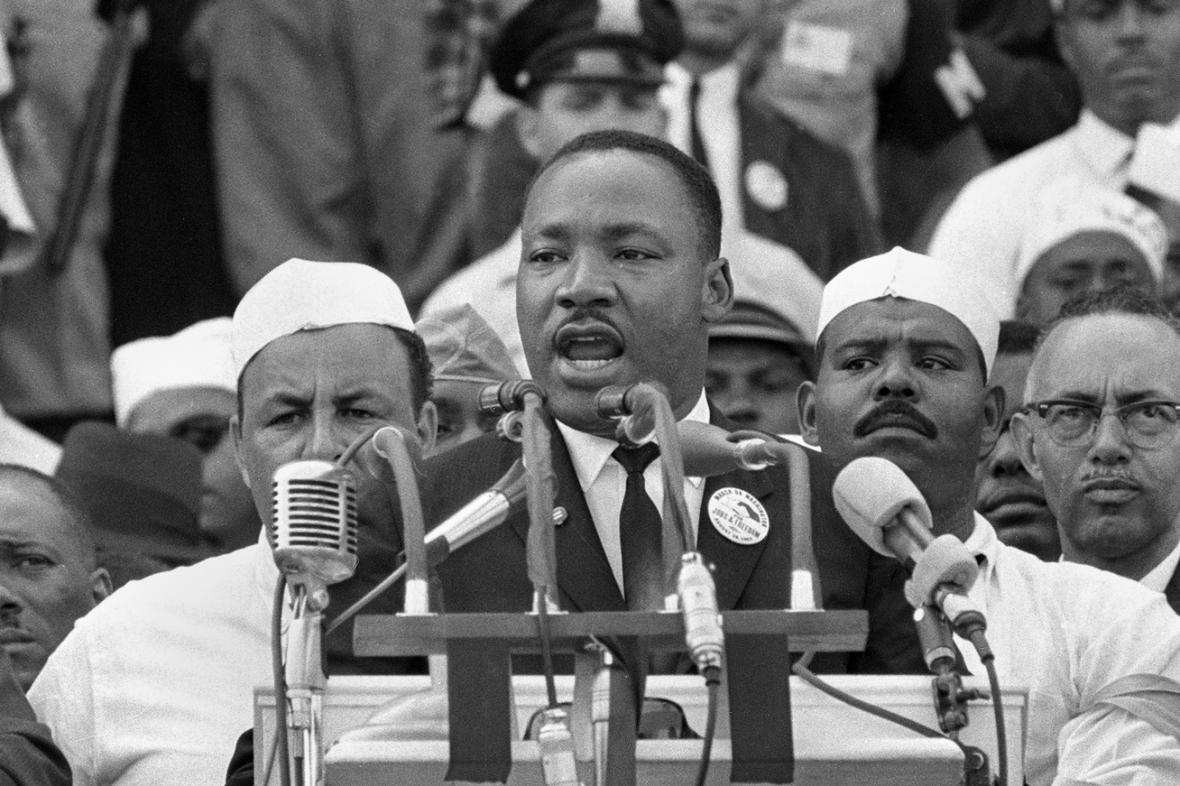 Martin Luther King a jeho projev