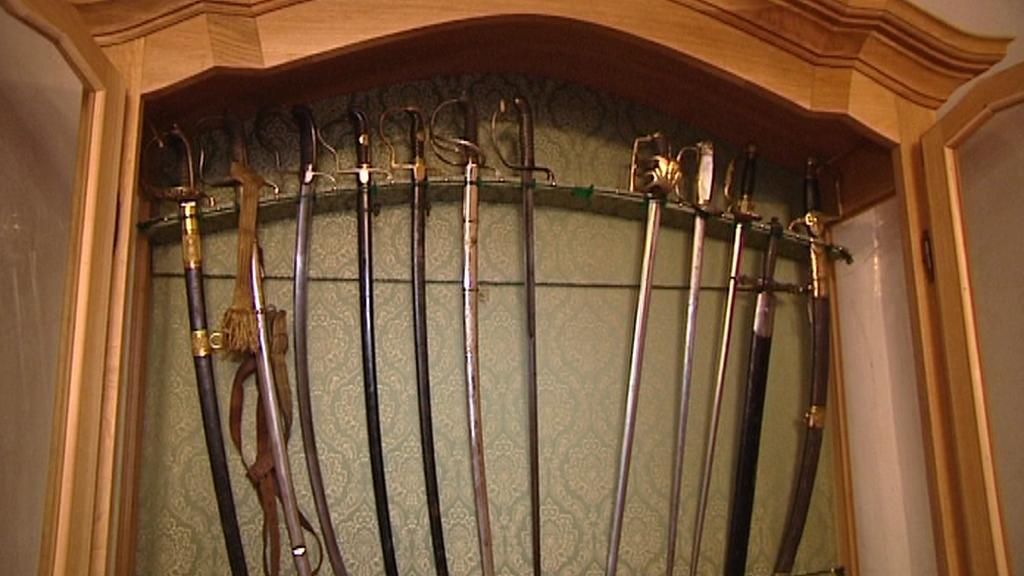 Sbírka zbraní v Horšovském Týně